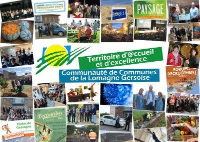 Carte postale Lomagne Gersoise
