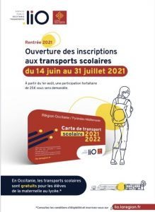 Transports scolaires 2021/2022